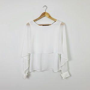 2/$20 Zara White Top
